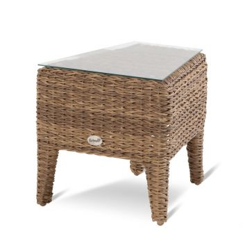 Zahradní stolek umělý ratan lounge Hartman LOUIS Lotus brown