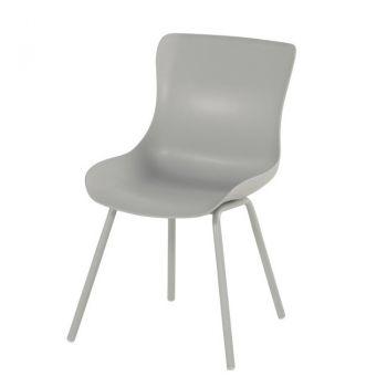 Jídelní židle SOPHIE RONDO světle šedá