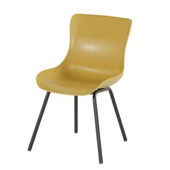 Jídelní židle SOPHIE RONDO žlutá kari
