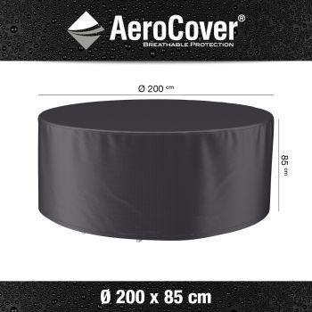 AeroCover- kryt na zahradní nábytek kruh 2