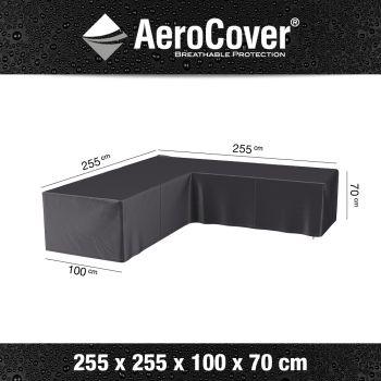 AeroCover- kryt na zahradní nábytek rohový 3