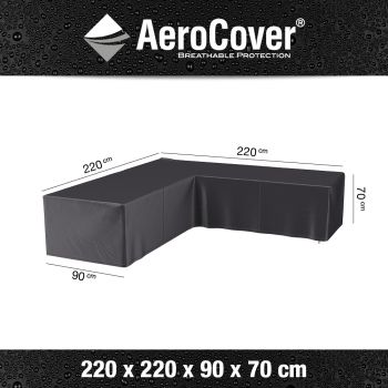 Kryt na rohovou lounge sedačku AeroCover 1