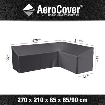 Ochranný kryt na rohovou sedačku AeroCover R1