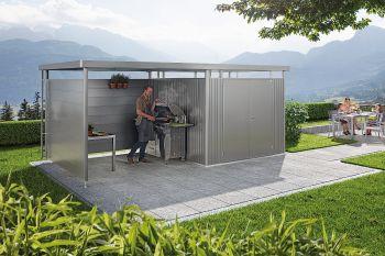 Biohort HighLine | boční a zadní stěna pod postranní střechu