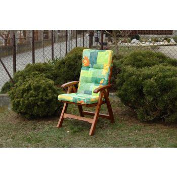 Polstr na zahradní nábytek BOX Classic Domingo green