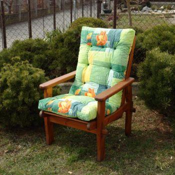 Polstr na zahradní nábytek Harbo Petra DOMINGO Green