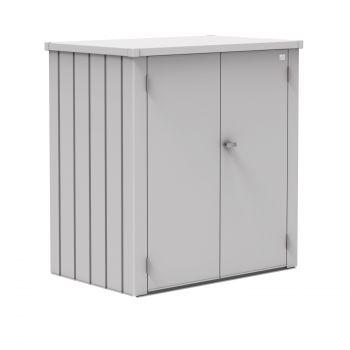 Biohort ROMEO stříbrná skříňka na terasu
