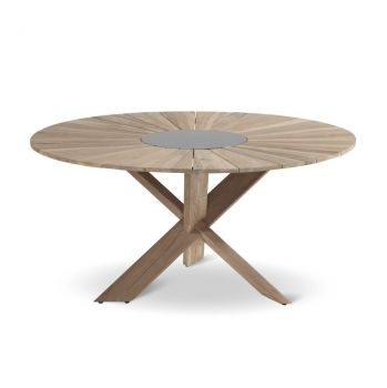 Zahradní stůl Hartman Provence cross vintage brown