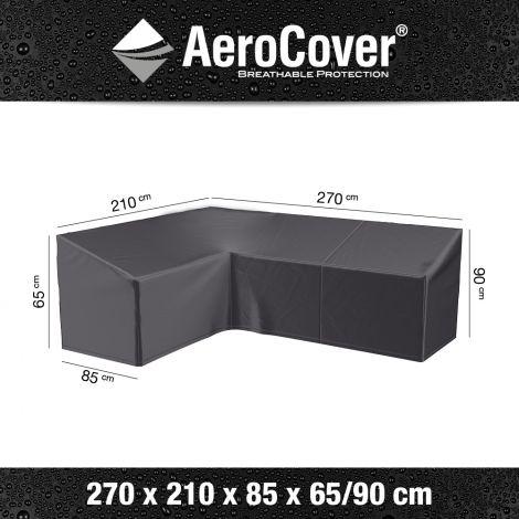 Ochranný kryt na rohovou sedačku AeroCover vel. R1