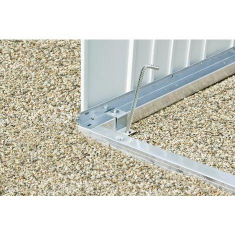 Hliníkový podlahový rám pro zahradní domek Biohort HighLine