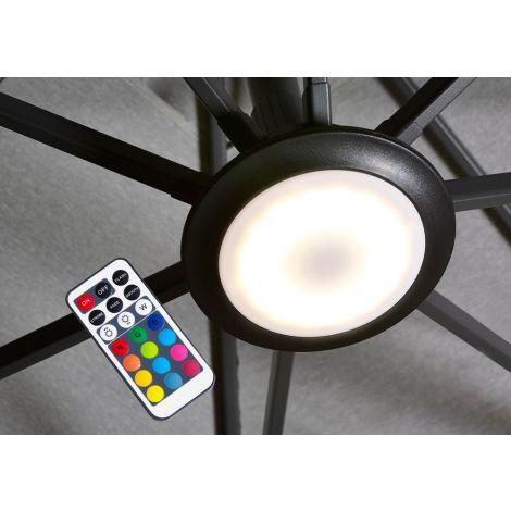 LED světlo ke slunečníku Platinum