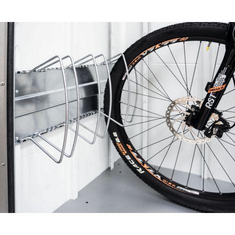 Stojan na kola BikeHolder pro boxy a domky Biohort