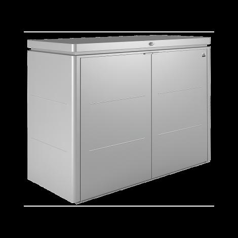 Vysoký úložný box Biohort HighBoard stříbrný