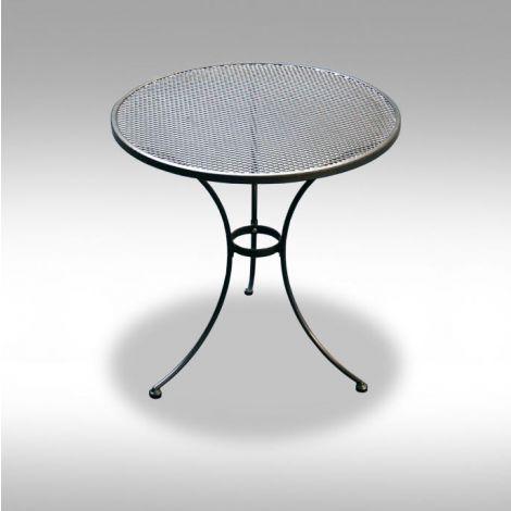 Zahradní kovový stolek z tahokovu Bistro 70