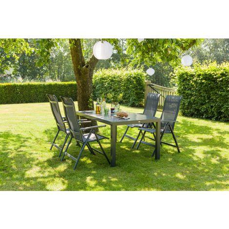 Zahradní nábytek hliník jídelní set Hartman LIVING Alice