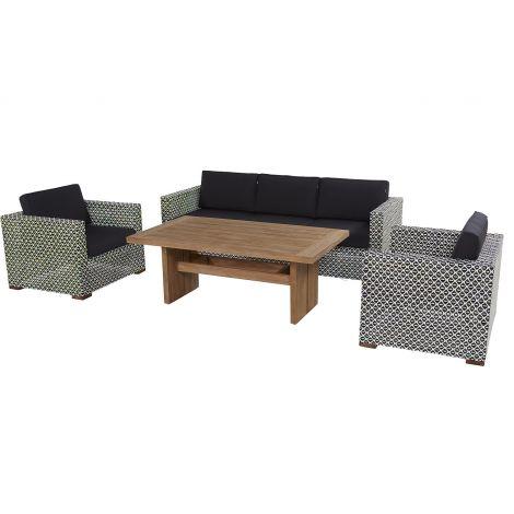 Zahradní nábytek umělý ratan sofa set Hartman NICOLE
