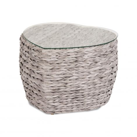 Boční stolek umělý ratan Hartman Heart