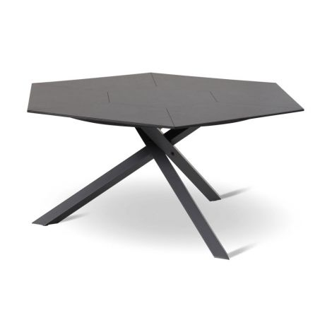 Zahradní stůl hliníkový jídelní Hartman HEXAGON Triangular Cross HPL