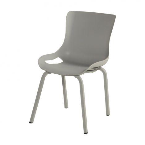 Stohovatelná židle SOPHIE PRO GASTRO světle šedá