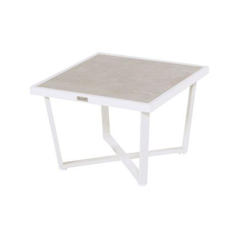 Lounge stolek Hartman LUXOR 2 bílý