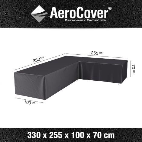 Kryt na rohovou lounge sedačku AeroCover R2