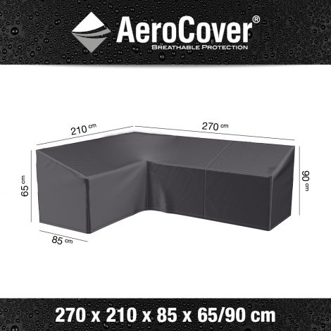 Ochranný kryt na rohovou sedačku AeroCover L1