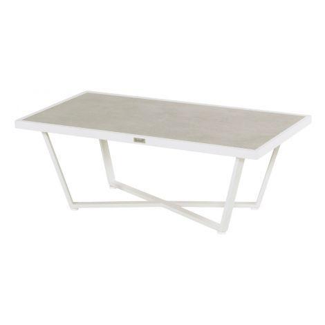 Lounge stolek Hartman LUXOR 3 bílý