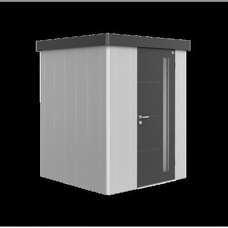 Biohort NEO zahradní domek stříbrný/šedý