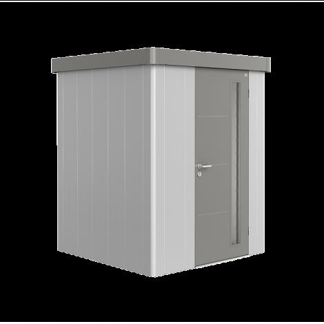 Biohort NEO zahradní domek stříbrný/křemen