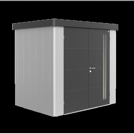Biohort NEO domek 2 stříbrný/šedý