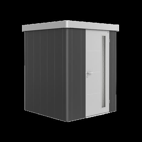 Biohort NEO domek 1 tmavě šedý/stříbrný