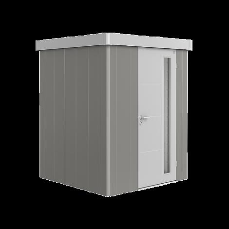 Biohort NEO domek 1 šedý křemen/stříbrný