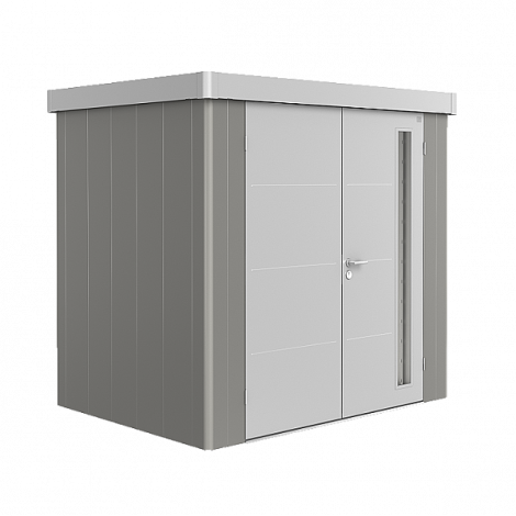 Biohort NEO domek 2 šedý křemen/stříbrný