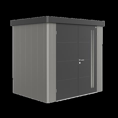 Biohort NEO domek 2 šedý křemen/tmavě šedý