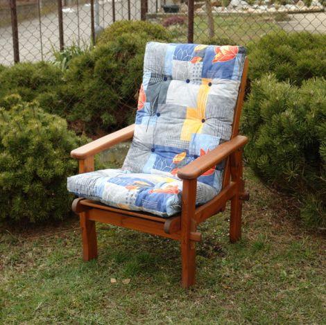 Polstr na zahradní nábytek Harbo Petra DOMINGO Blue