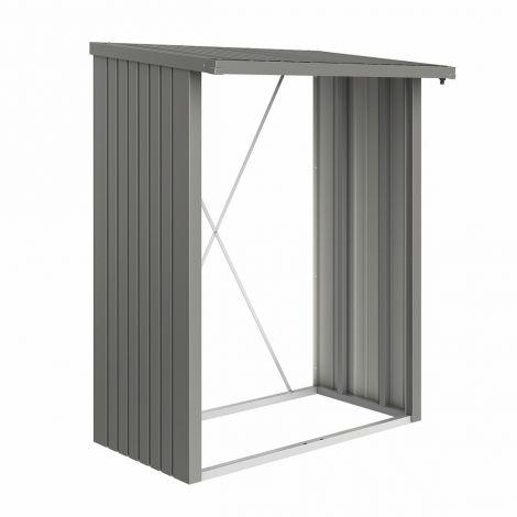 Biohort WoodStock | zásobník na dřevo- šedý křemen