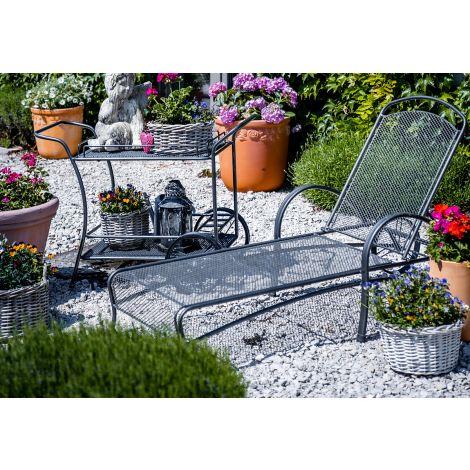Zahradní lehátko ORION steel
